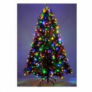 Albero di Natale 210 cm Poly verde memory shape luci Bluetooth s5
