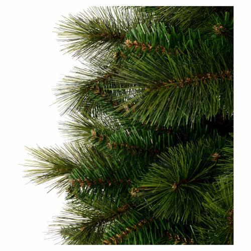 Albero di Natale 210 cm verde pvc Slim Rocky Ridge s4