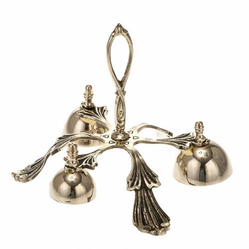 Altar bell three sounds decorated s1