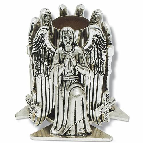 Altar candle holder with praying angel s1