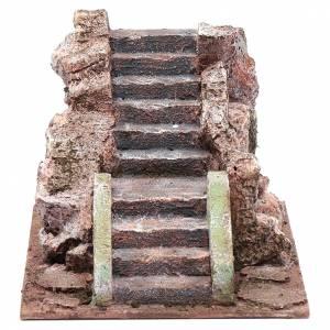 Alte Treppe für Krippe 10x15x20cm s1
