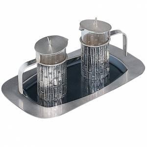 Ampolline Metallo: Ampolline da messa Molina ottone argentato