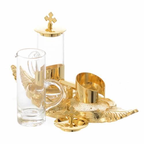 Ampolline Palma 100 cc vassoio bronzo dorato s2