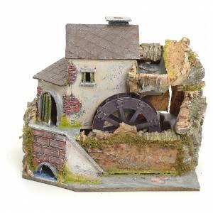Moulins en miniature: Ancien moulin à vent, milieu pour crèche
