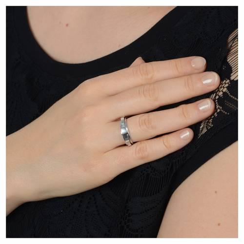 Anello decina argento 800 girevole s3