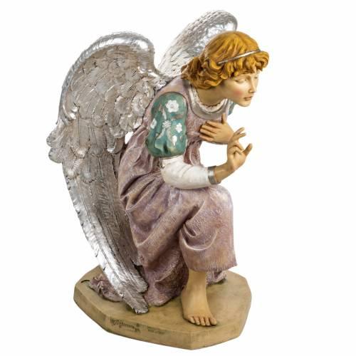 Ange à genoux crèche Fontanini 125 cm résin s4
