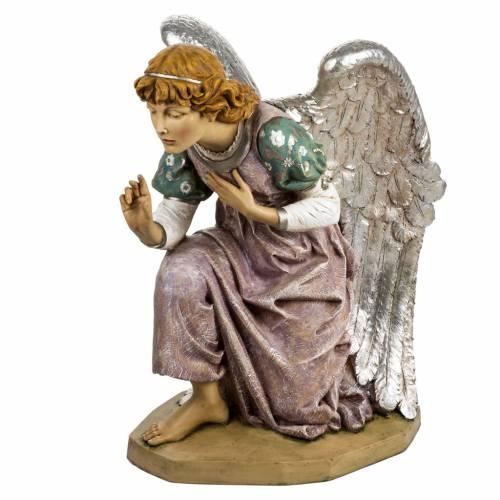 Ange à genoux crèche Fontanini 125 cm résin s1