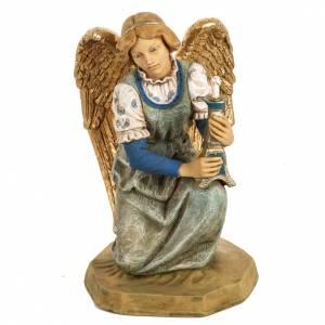 Santons crèche: Ange à genoux crèche noel 52 cm Fontanini