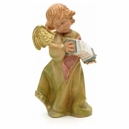 Ange avec accordéon crèche Fontanini 19 cm s1