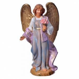 Santons crèche: Ange avec anémones crèche Fontanini 12cm