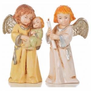 Angeli 8 pz Fontanini cm 7,5 tipo porcellana s3