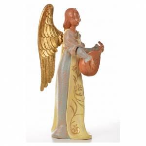 Angeli: Angelo con mandolino cm 30 Fontanini