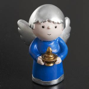 Angels of friendship in resin, 4 pieces s3