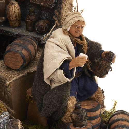 Animated nativity scene,  drunkard scene 12 cm s5