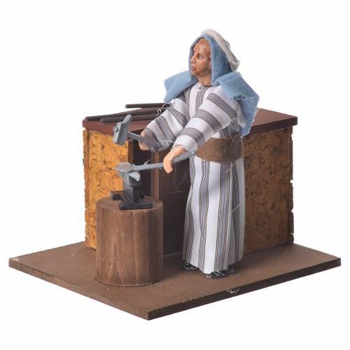 Arabian smith, animated nativity figurine, 12cm s3