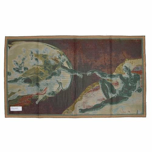 Arazzo Creazione di Adamo 72x130 cm s2