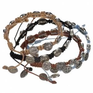 Medjugorje Armbänder: Armband Medjugorje Benediktus Medaillen