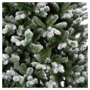 Artificial Christmas trees: Artificial Christmas tree 225 cm, flocked Sheffield with glitter