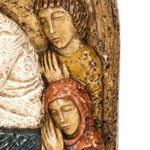 Assunzione bassorilievo pietra Bethléem s4