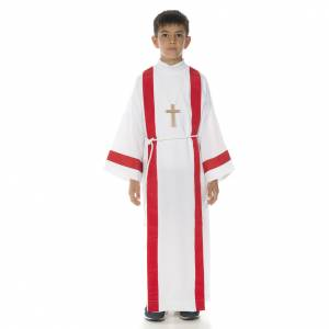 Aubes communion, profession de foi: Aube communion avec bord rouge