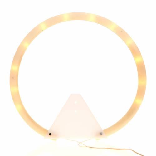 Auréole tubulaire plexiglas s1