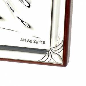 Bajorrelieve plata angel guardián -oval base recta s3