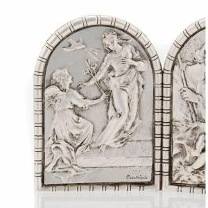 Bajorrelieve tríptico Sagra Familia, Crucifixión y Anunciació s2