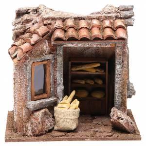 Baker shop for nativity 10cm s1