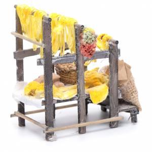 Banchetto con pasta e sacchi presepe napoletano s3
