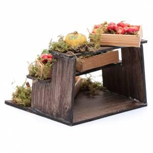 Banco di frutta e verdura presepe napoletano fai da te s3