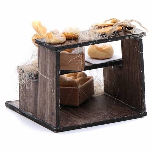 Banco di pane accessorio presepe napoletano s3