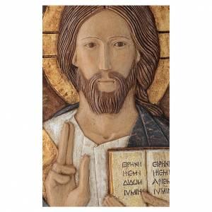 Bas reliefs en pierre: Bas-relief Christ Maître pierre Bethléem