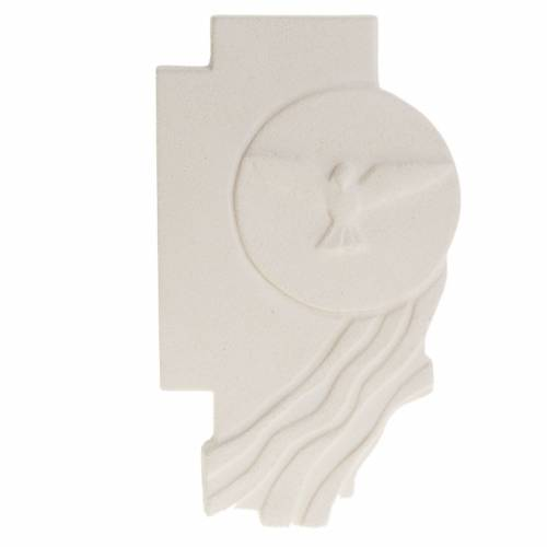 Bas-relief  Holy Spirit Confirmation crucifix s1