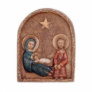 Bas reliefs en pierre: Bas-relief Nativité