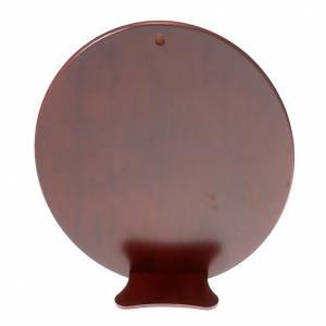 Bas relief or et argent, vierge de Ferruzzi, ovale s2
