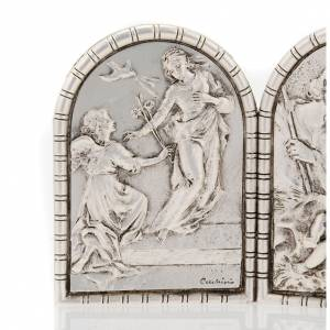 Bas-relief Triptych, Holy Family, Crucifixion, Annunciation s2
