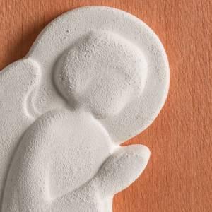 Sonstige Basreliefs: Basrelief bunt mit Engel