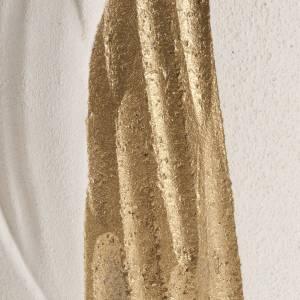 Bassorilievo Maria Gold con raggi h 17,5 cm s3