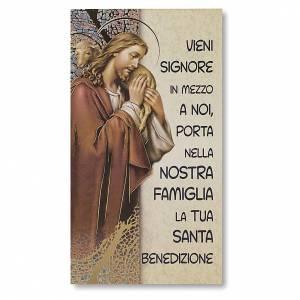 Accessori per Benedizione: Benedizione delle Famiglie Cartoncino Gesù Buon Pastore ITA