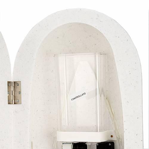 Bénitier en Hanex couleur blanc s5