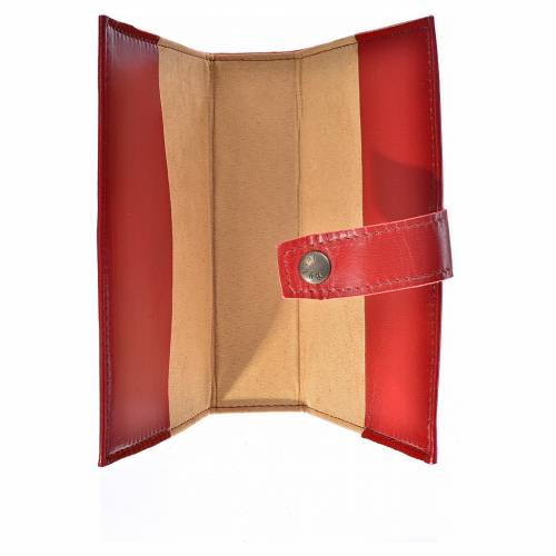 Bible cover reader edition, burgundy leather, Our Lady of the New Millennium s3
