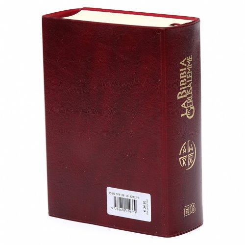 Bible Jérusalem, nouvelle trad., semi-cuir  bouton ITA s4
