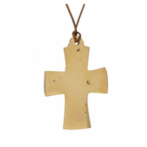 Bishop pecroral cross Bethlehem Monks 5,5x4cm s2