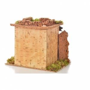 Bistrot en miniature crèche de noël 15x10 cm. D&eacu s3