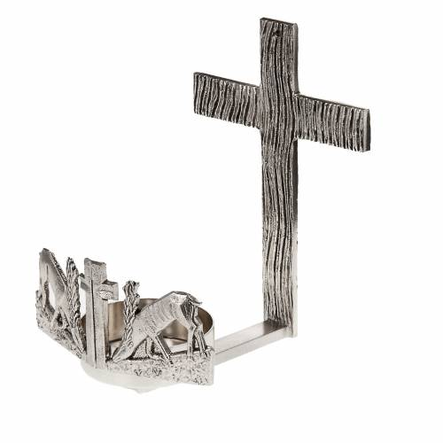 Blessed Sacrament wall lamp with deer at the spring s1