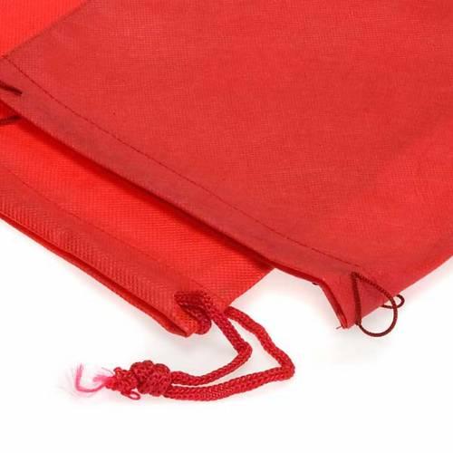 Bolsa porta cáliz rojo tela s2
