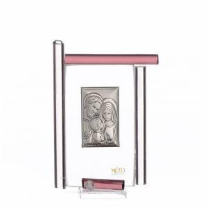 Bomboniere e ricordini: Bomboniera Sacra Famiglia Murano viola h.9 cm