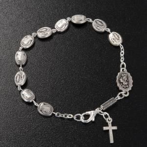 Bracelet dizainier Ghirelli Notre Dame de Lourdes 6x8mm s2