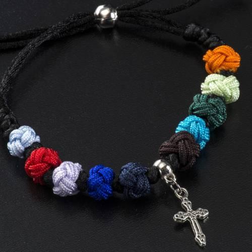 Bracelet dizainier Medjugorje corde s3