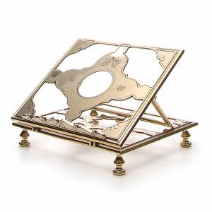 Book stands: Brass book-stand